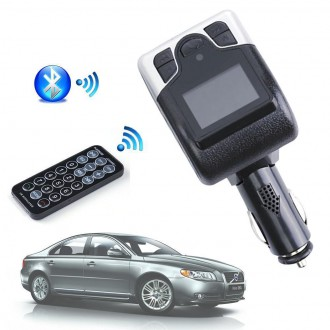 Transmitter do auta - FM transmitter do auta s Bluetooth handsfree