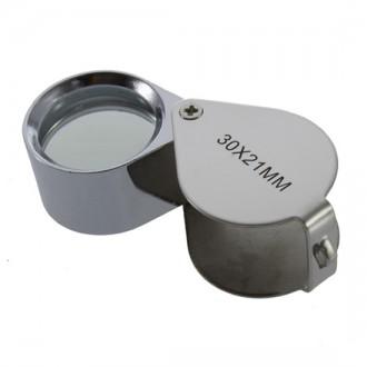 Mikroskopy a lupy - Klenotní optická lupa - zvětšení 30x