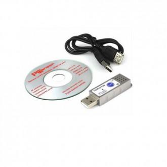 Příslušenství pro počítače - USB teploměr, vlhkoměr do PC, notebooku