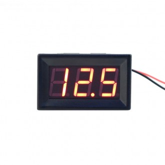 Měřící přístroje - Digitální voltmetr do panelu 2,50 - 30V