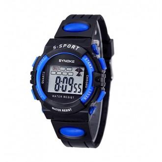 Hodinky - Dětské digitální hodinky značky Synoke, modré