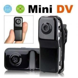 Zabezpečovací systémy - Mini špionážní HD kamera MD80
