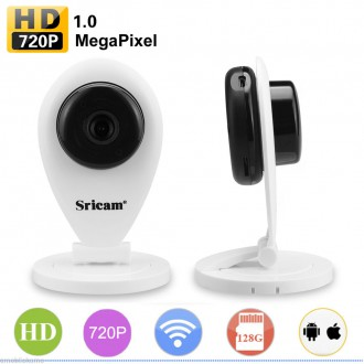 Zabezpečovací systémy - Wifi IP kamera Sricam