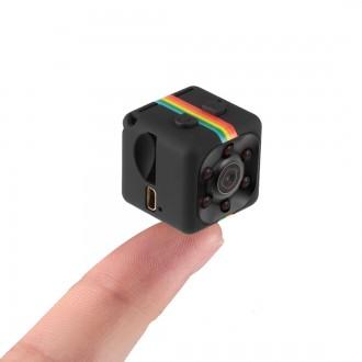 Zabezpečovací systémy - Mini Full HD kamera SQ11