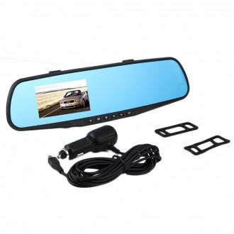 Záznamové kamery do auta - Full HD Auto Kamera ve zpětném zrcátku