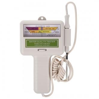 Měřící přístroje - pH metr a měřič hladiny chlóru v bazénové vodě