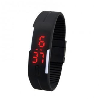 Hodinky - Digitální hodinky na běhání - černá