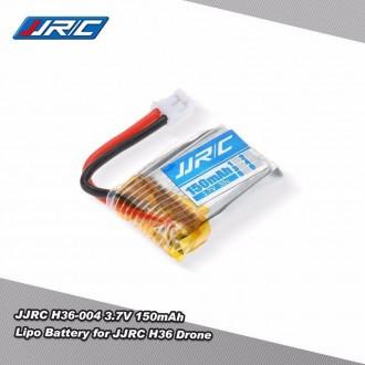 RC modely a hračky - Baterie do drona H36 JJRC 150mAh 3,7V LiPo