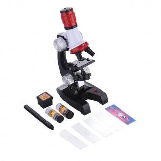 Mikroskopy a lupy - Vzdělávací mikroskop pro děti 100 - 1200x
