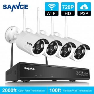 Zabezpečovací systémy - Kamerový systém SANNCE