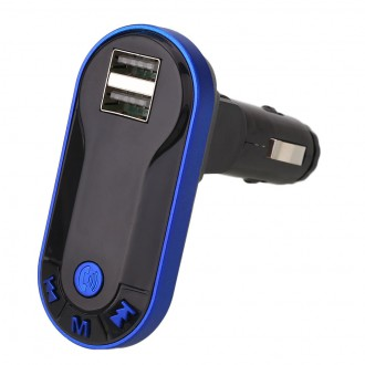 Transmitter do auta - FM Transmitter do auta podpora Bluetooth handsfree