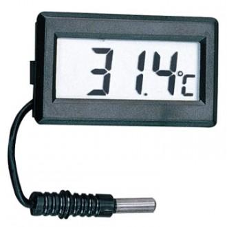 Měřící přístroje - Malý digitální teploměr do panelu