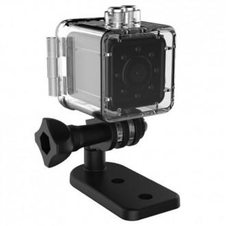 Záznamové kamery do auta - Mini Kamera SQ13 HD + vodotěsné pouzdro