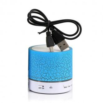 Příslušenství pro mobily - Bluetooth bezdrátový reproduktor LED FM Radio