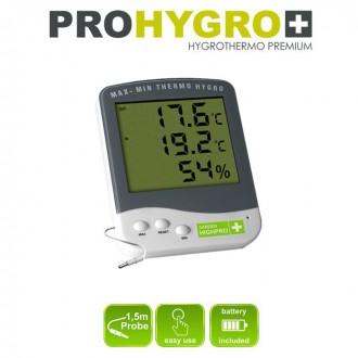 Měřící přístroje - Digitální Thermo-Hygro metr PREMIUM se sondou