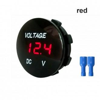 Nabíječky, adaptéry a redukce - Digitální voltmetr do panelu DC 5 - 48 V