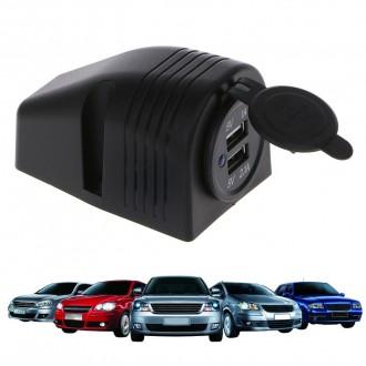 Nabíječky, adaptéry a redukce - USB nabíječka v panelu do auta