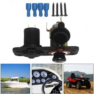 Nabíječky, adaptéry a redukce - Auto-zapalovač a USB nabíječka do panelu