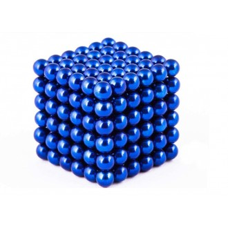 RC modely a hračky - NeoCube magnetické kuličky 5mm 216 kusů modré