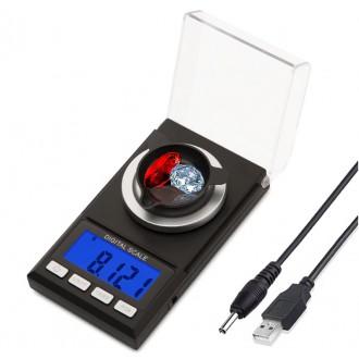 Měřící přístroje - Laboratorní digitální váha do 100g s přesností 0,001g