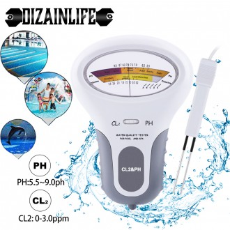 Měřící přístroje - Bazénový analogový tester pH Chlor (pH a CL2)