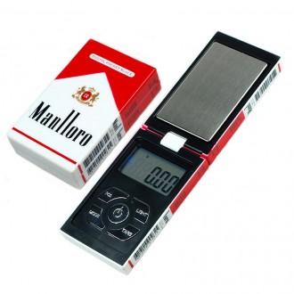 Měřící přístroje - Digitální váha v krabičce cigaret do 200g a 0.01g