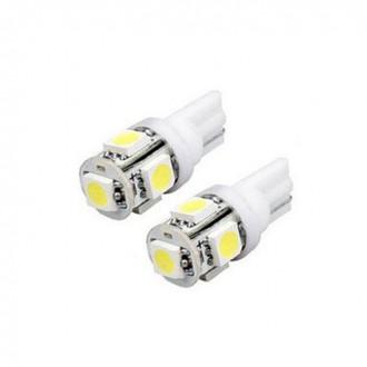 LED osvětlení - Led žárovka parkovací W5W, T10, 5x SMD5050