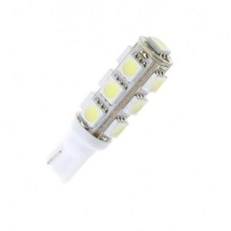 LED osvětlení - Led žárovka parkovací W5W, T10, 13x SMD5050