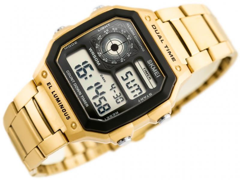 Digitální hodinky Skmei 1335 Gold - iPal.cz 1fbd1522196