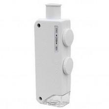 Kapesní mikroskop 160x-200x + dárek Silikonové náramkové hodinky - digitální černé zdarma