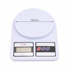 Kuchyňská digitální váha - 10kg s přesností 1g + dárek Silikonové náramkové hodinky - digitální fialové zdarma