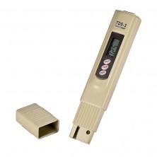 digitální TDS metr - konduktometr s měřením teploty + dárek Silikonové náramkové hodinky - digitální modré zdarma