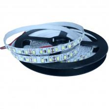 LED pásek, 5m, 300 LED, studená bílá, SMD2835 + dárek Silikonové náramkové hodinky - digitální modré zdarma