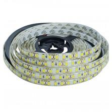 Vodetěsný LED pásek, 5m, 300 LED, teplá bílá, SMD2835 + dárek Silikonové náramkové hodinky - digitální modré zdarma