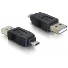 Redukce micro USB B samec na USB A samec