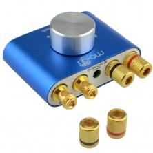Mini Hi-Fi stereo zesilovač s Bluetooth, přenašeč audio signálu