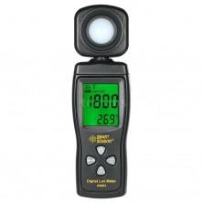 Digitální luxmetr 200 000 Lux s měřením teploty