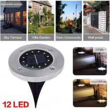 Venkovní solární LED osvětlení
