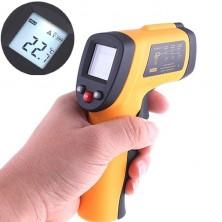 Bezkontaktní infračervený teploměr s měřením do 380 C