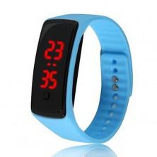 Sportovní digitální hodinky - modré