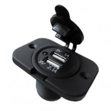 USB nabíječka vodě-odolná zásuvka s panelem