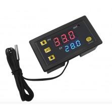 Digitální termostat panelový LCD 12V 20A W3230