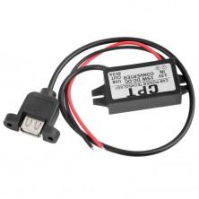 Měnič napětí 12V 5V 3A USB
