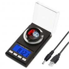 Laboratorní digitální váha do 100g s přesností 0,001g