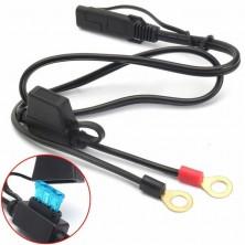 Připojovací kabel s konektorem SAE a pojistkou 15A