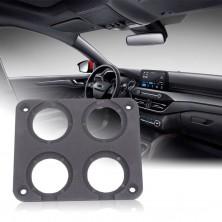 Montážní auto panel se čtyřmi otvory