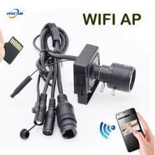WIFI IP minikamera HQCAM s manuálním objektivem