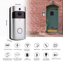 Video zvonek s přenosem obrazu přes Wifi a PIR čidlem
