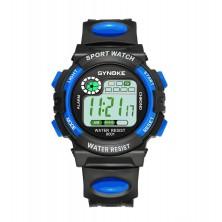 Dětské digitální hodinky značky Synoke, modré
