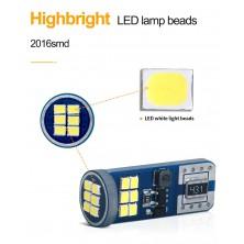 LED žárovka T10 W5W 18x 2016SMD